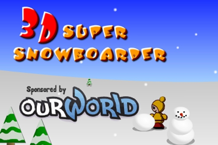 3D Super Snowboarder Game