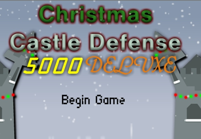 Christmas Castle Defense 5000 Deluxe Game