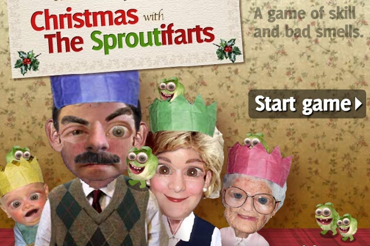 Christmas With The Sproutifarts Game