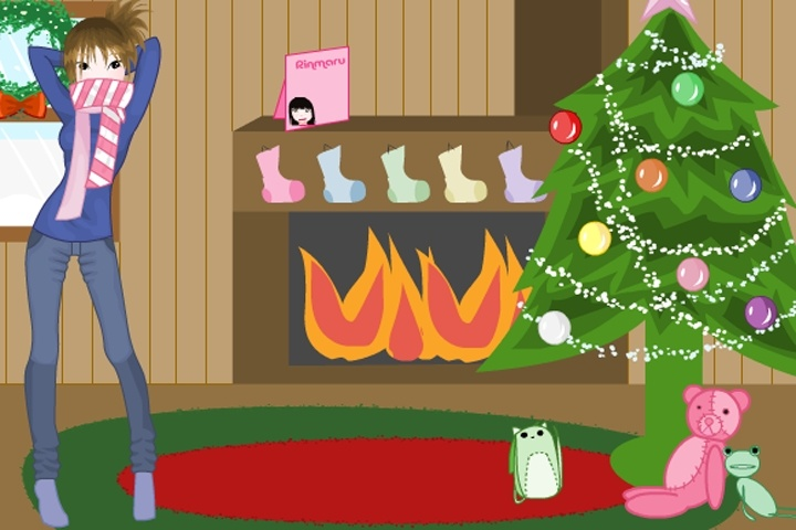 Christmas Time Dress-up Game