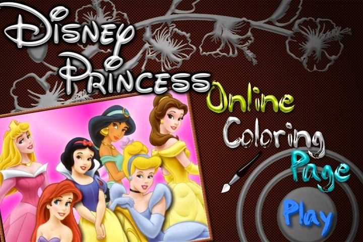 disney coloring pages online games - photo#33