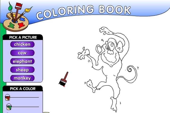 Animal Coloring Book Game - Play Free Coloring Games - Games Loon