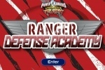 Power Rangers Jungle Fury Ranger Defense Academy game free online