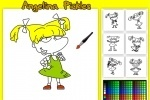 Rugrats Angelina Pickles Coloring