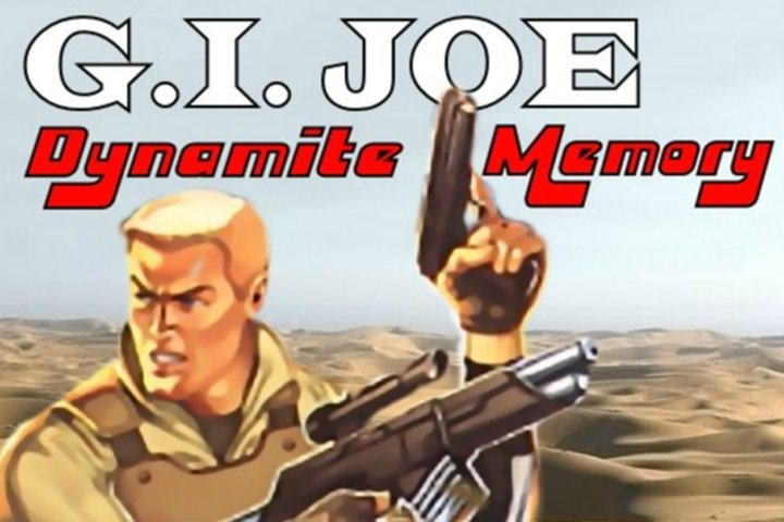 GI Joe Dynamite Memory Game