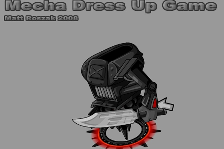 Mecha Dress Up Game