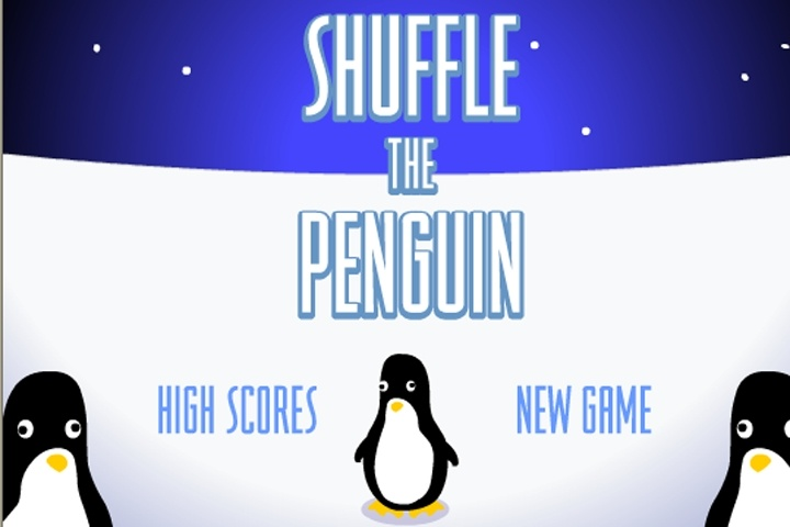 Shuffle the Penguin Game
