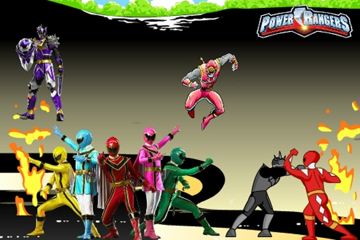 power rangers online free games