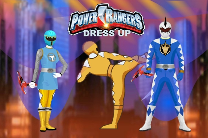 Power Rangers Dress Up Game - Power Rangers Games - Games Loon-1932