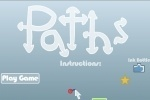 Draw Paths game free online