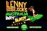 Lenny Loose Jocks Australia Day Blast game free online