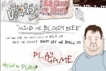 Johnny Vegas Mind me Bloody Beer game free online