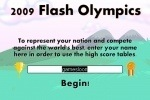 2009 Flash Olympics game free online