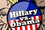 Hillary Clinton vs Obama game free online