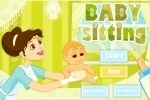 Baby Sitting game free online