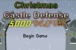 Christmas Castle Defense 5000 Deluxe game free online