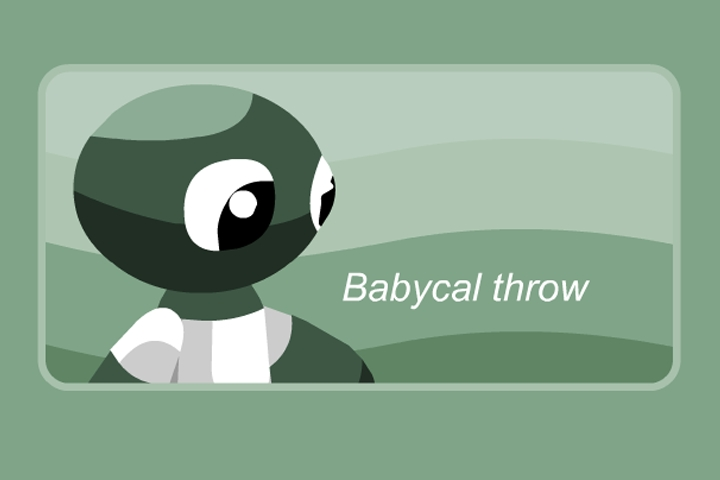Babycal Throw Game