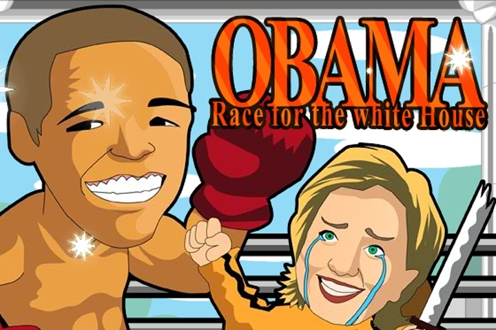 Obama Race For the White House Game