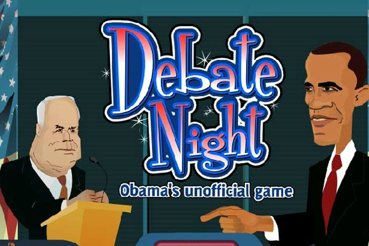 Debate Night Obama Game