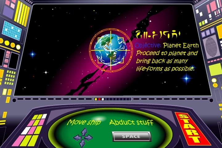 Alien Planet Abduction Game