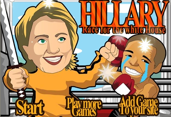 Hillary Race For The White House Game