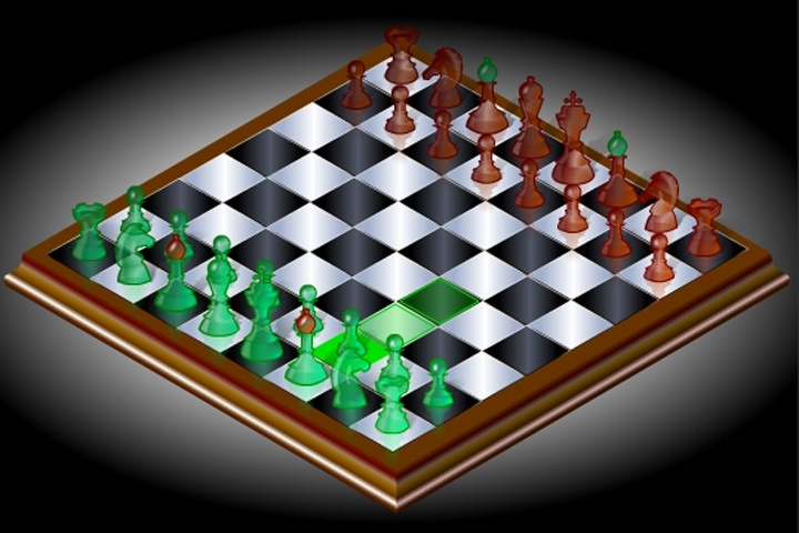 3D Flash Chess Game