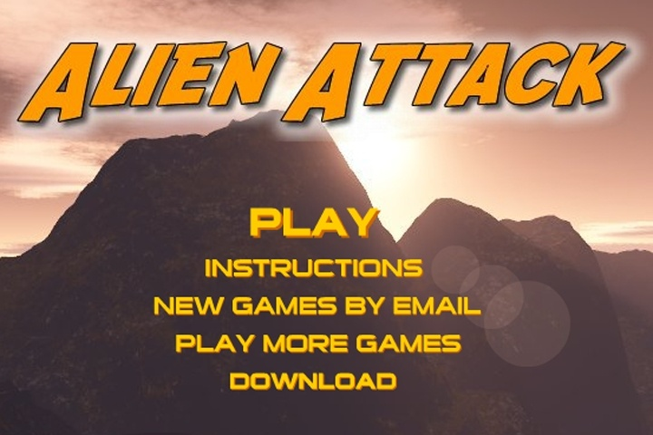 Alien Attack Game