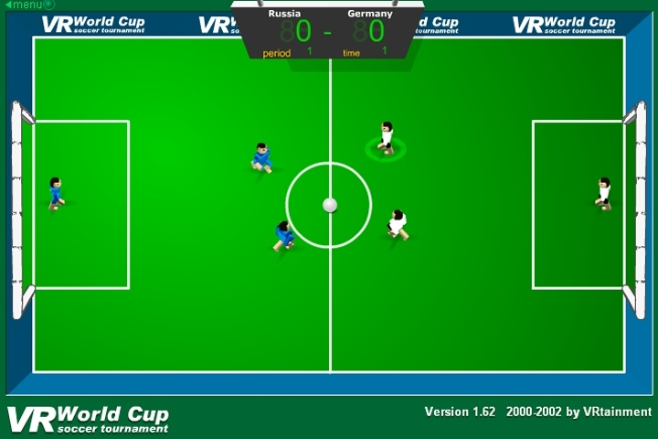 VR World Cup Soccer Tournament Game