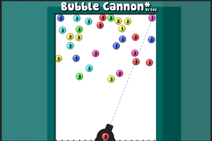 game online puzzle bubble