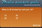 Brain Teaser Quiz game free online