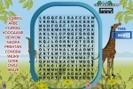Word Search Animal Scramble game free online