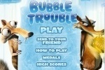 Ice Age Bubble Trouble game free online