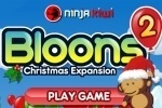Bloons 2 Christmas Expansion game free online