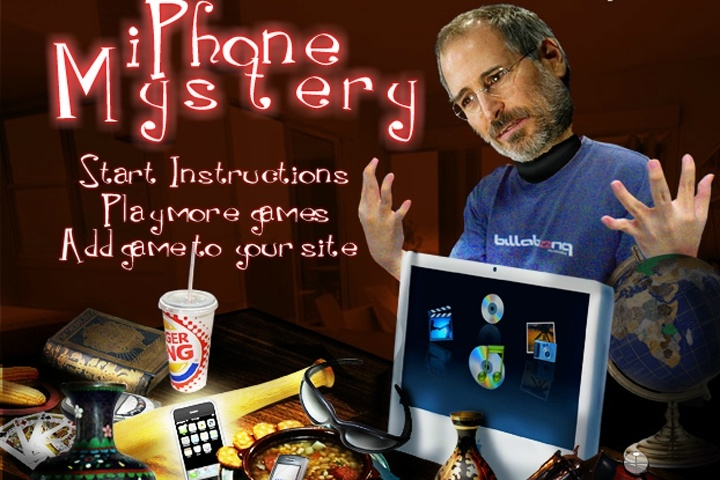 IPhone Mystery Game