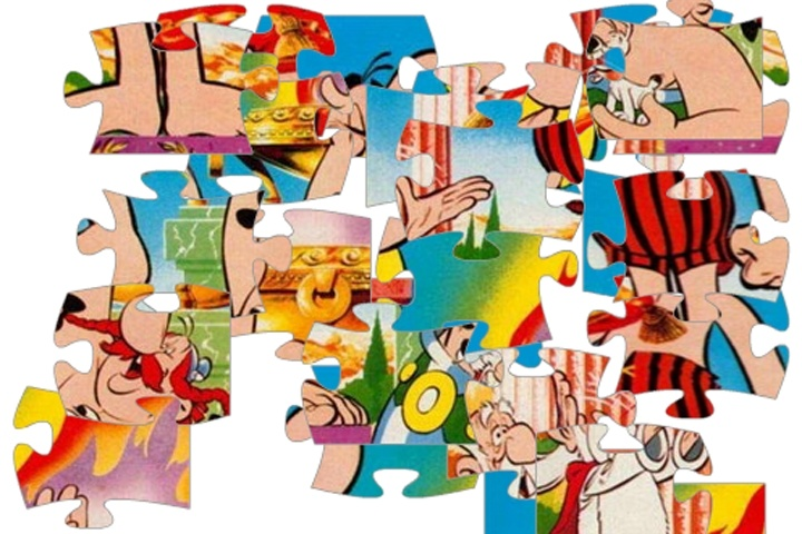 Asterix And Obelix Jigsaw Puzzle Game