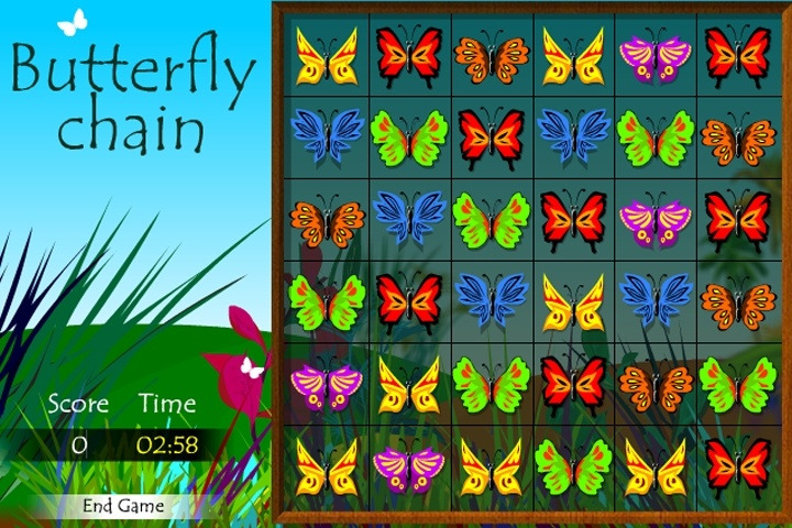 Butterflies Game