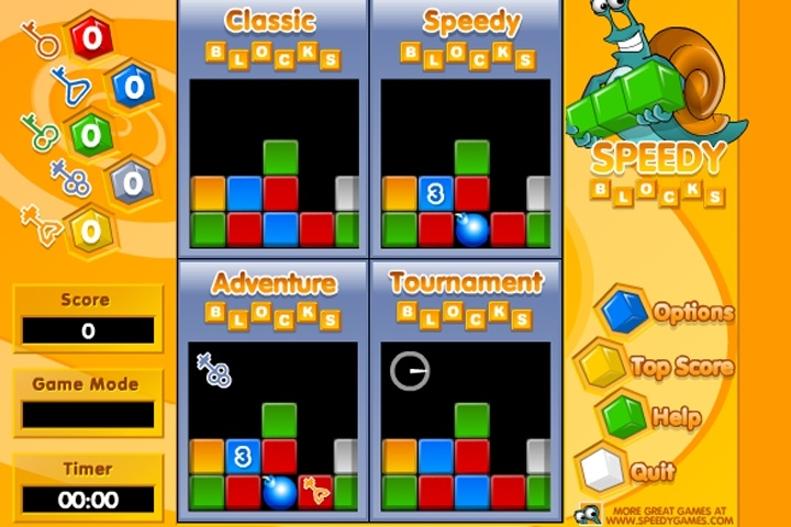 Speedy Blocks Game