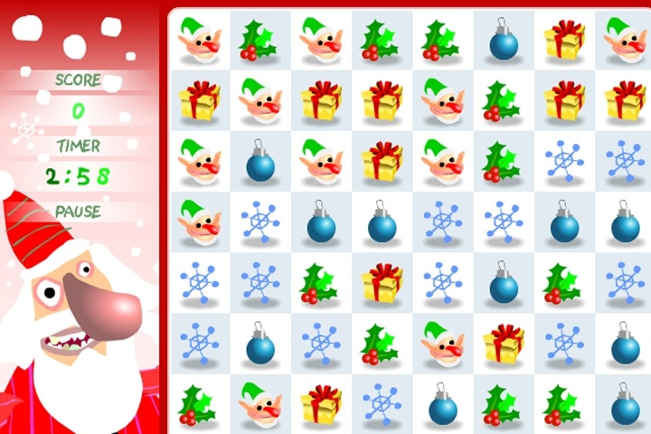 Santa Christmas Switch Game