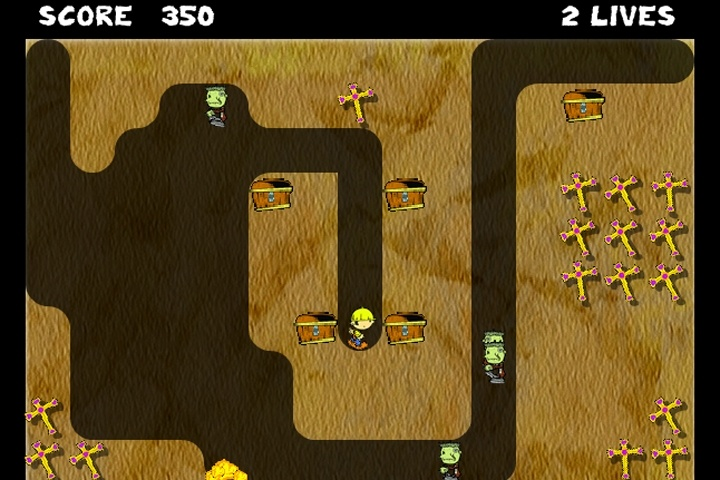 Tomb Digger Game