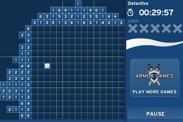 Armor Picross 2 Game