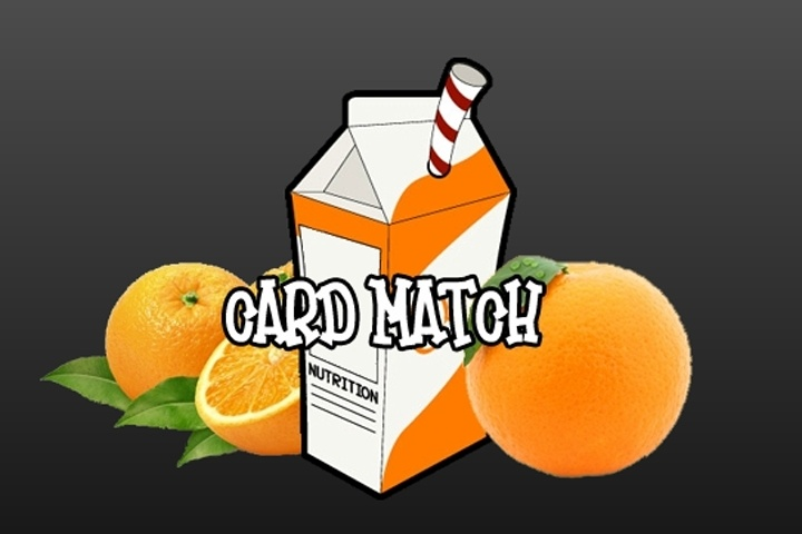 Oranges Card Match Game