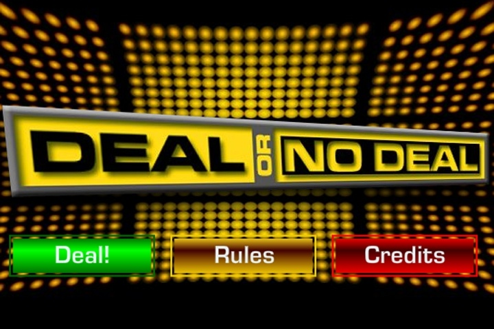 Free Deal Or No Deal Game
