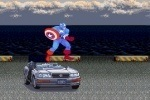 Captain America Car Demolition game free online