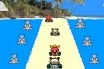 Meowth Kart Race game free online