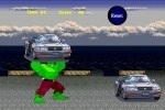 Hulk's Car Demolition game free online