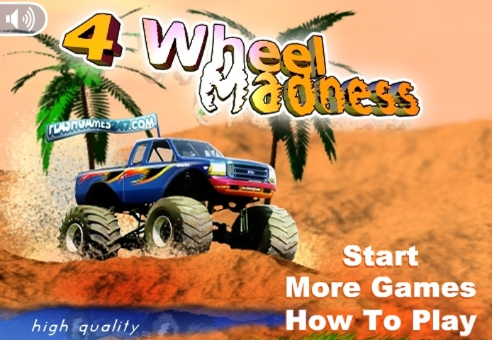 4 Wheels Madness Game