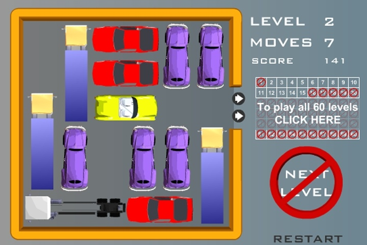 Rush Hour Road Rage Game