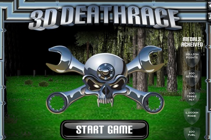 3D Deathrace Game