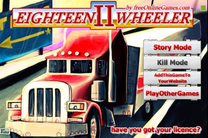 18 Wheeler 2 Game