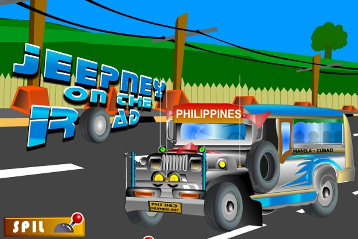 Jeepney On The Road Game
